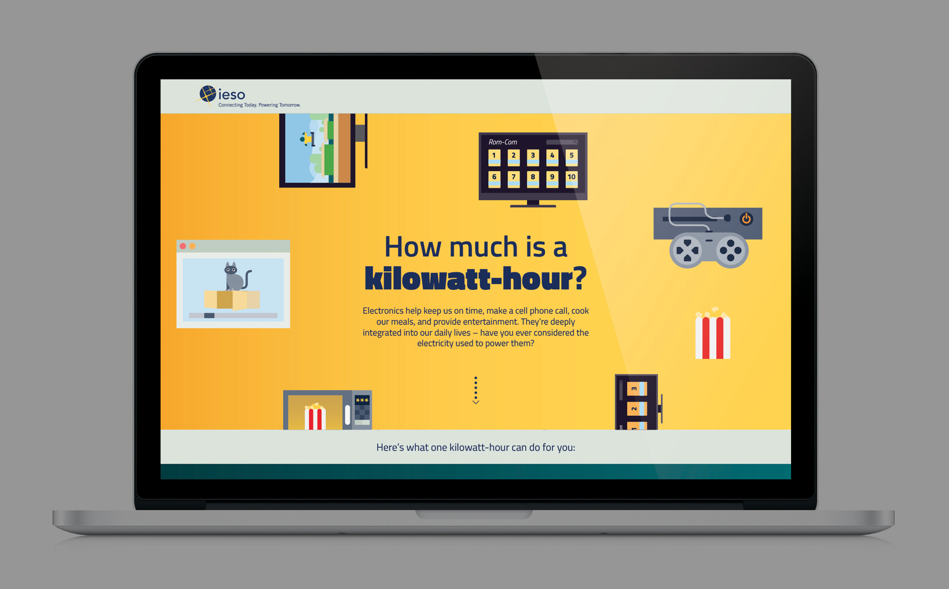 IESO 1KWH website desktop