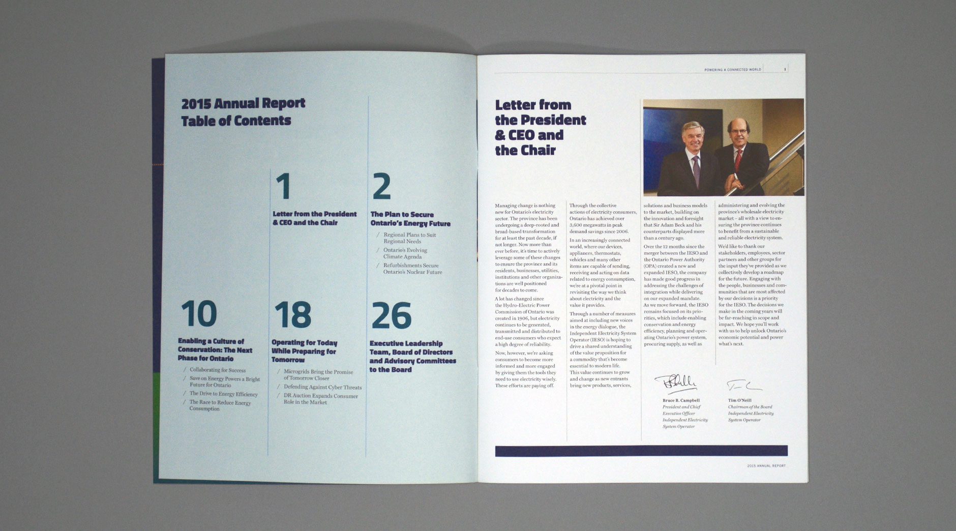 IESO Annual Report interior