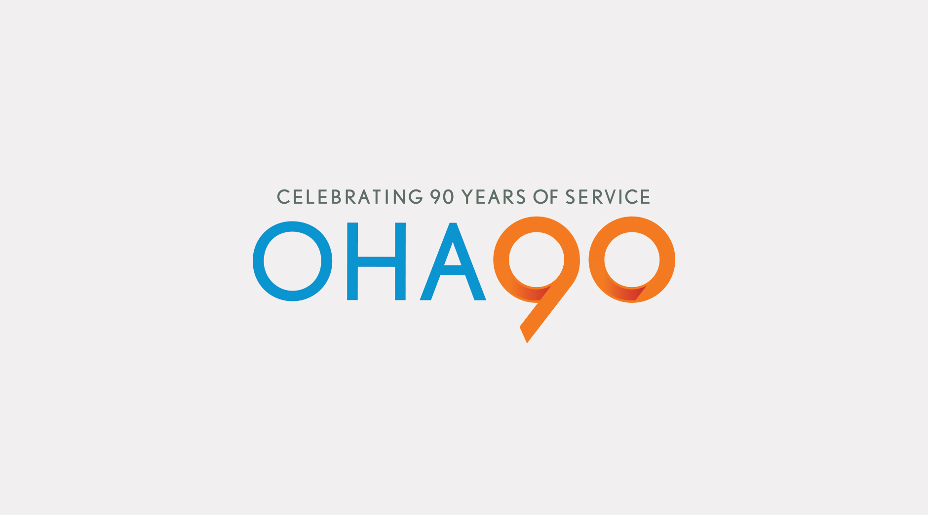 OHA 90th logo