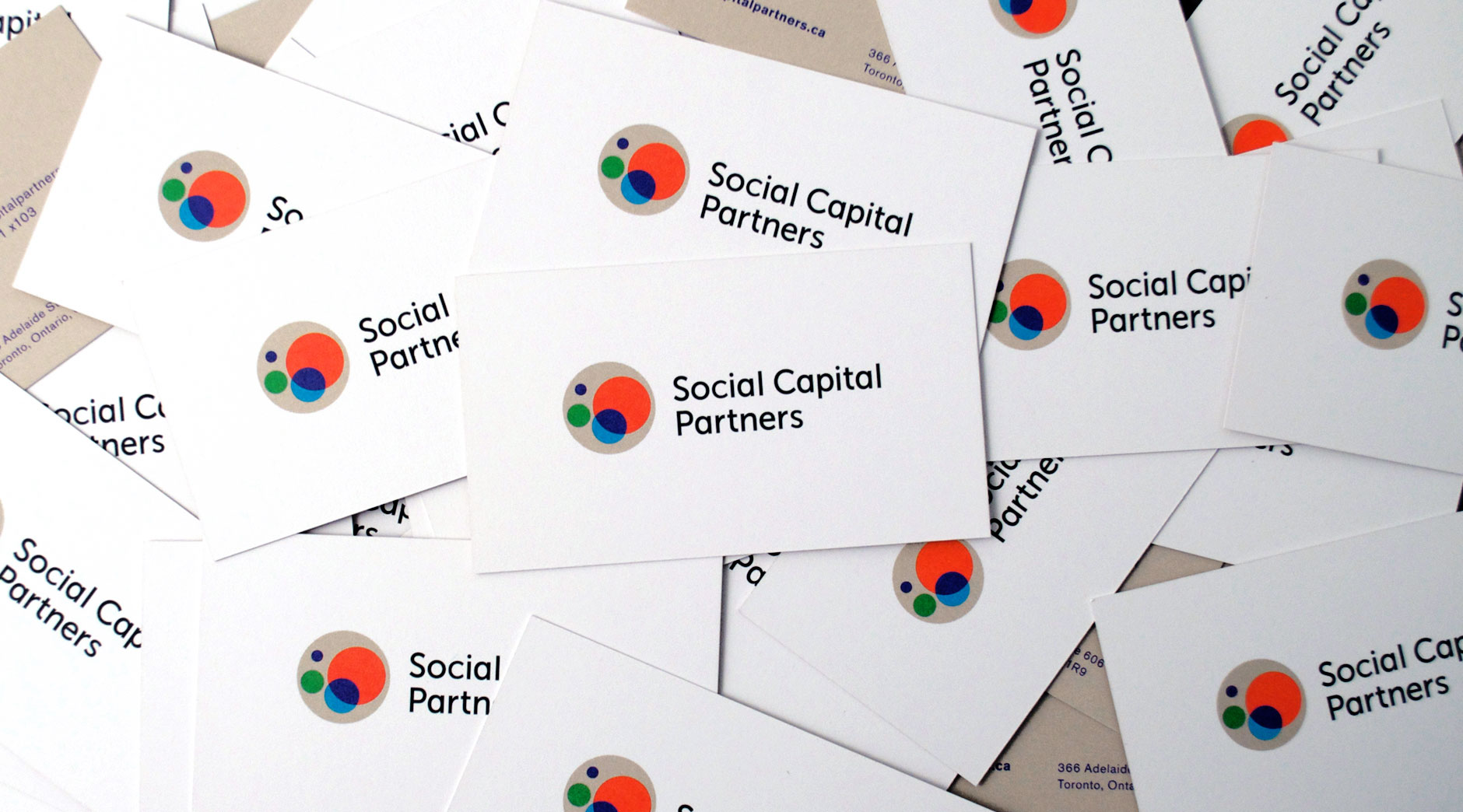 Social Capital Partners business cards